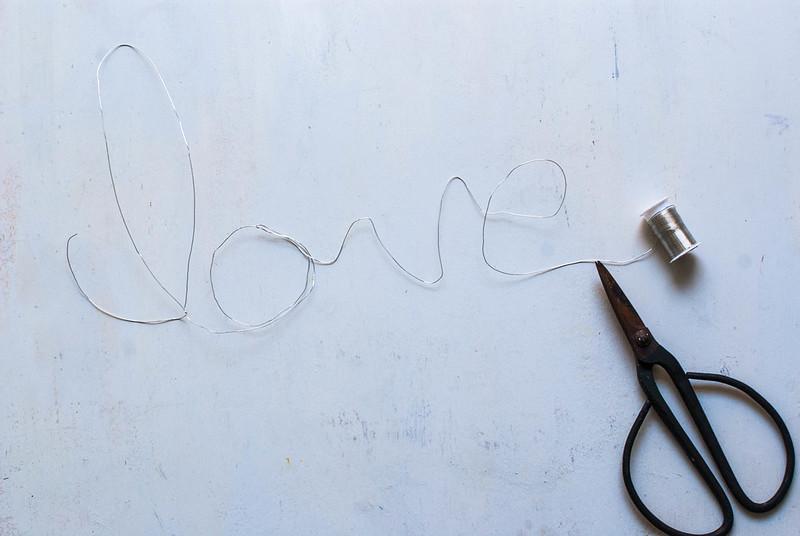 letras con cuerda diy