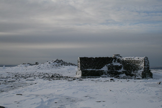 Ingleborough summit area