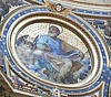 """Saint Luke the Evangelist"" (Symbol: Ox) - mosaic (after 1590) by Giovanni De Vecchi - Saint Peter Basilica - The Vatican City / Rome"