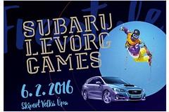 Přelet nad hvězdami SUBARU LEVORG GAMES ve Velké Úpě