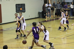 Varsity Girls Basketball @ Fresno Christian - 51