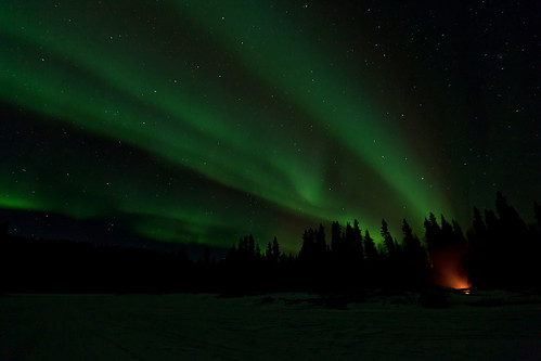 020716 - Early Aurora fills the Eastern sky