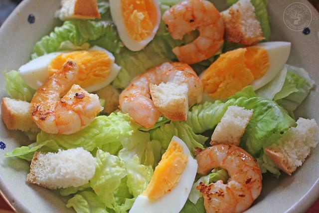Ensalada Cesar con langostinos www.cocinandoentreolivos.com (16)
