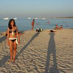 Ceci en la playa de San Vito lo Capo