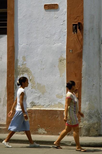 Cuba Calle in Havana Cuba.