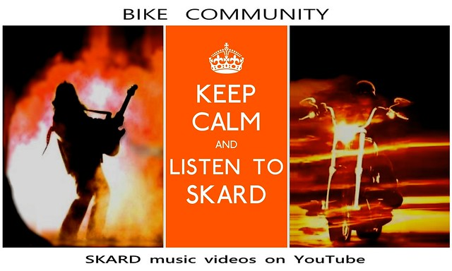 SKARD rock band ~ Keep Calm and listen to SKARD
