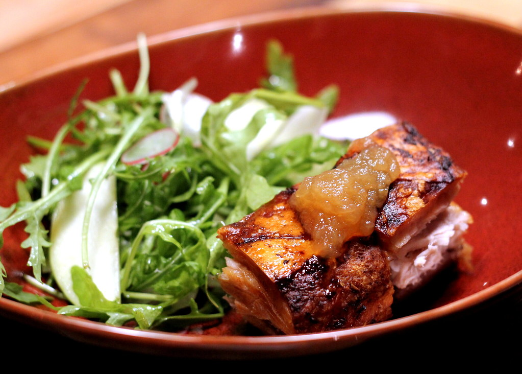 The Chop House: Crispy Pork Belly