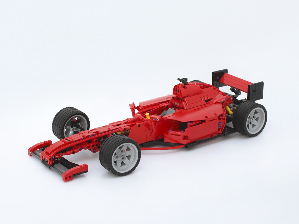 Ferrari Racer An Alternate Model From A Lego 8070 Technic Flickr