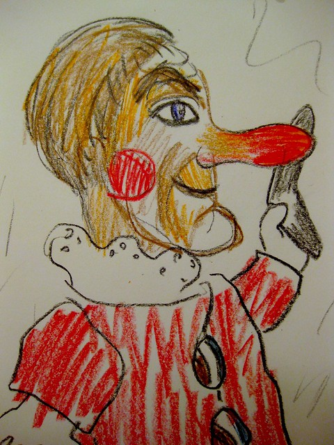 Memory Drawing Of Lady Elaine Fairchilde