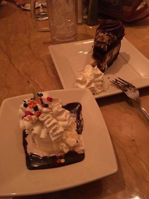 Geburtstagscheesecake