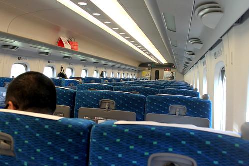 Empty Shinkansen