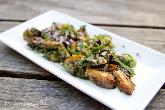 Fried Brussels Sprout at Greenhouse Tavern (Cleveland)