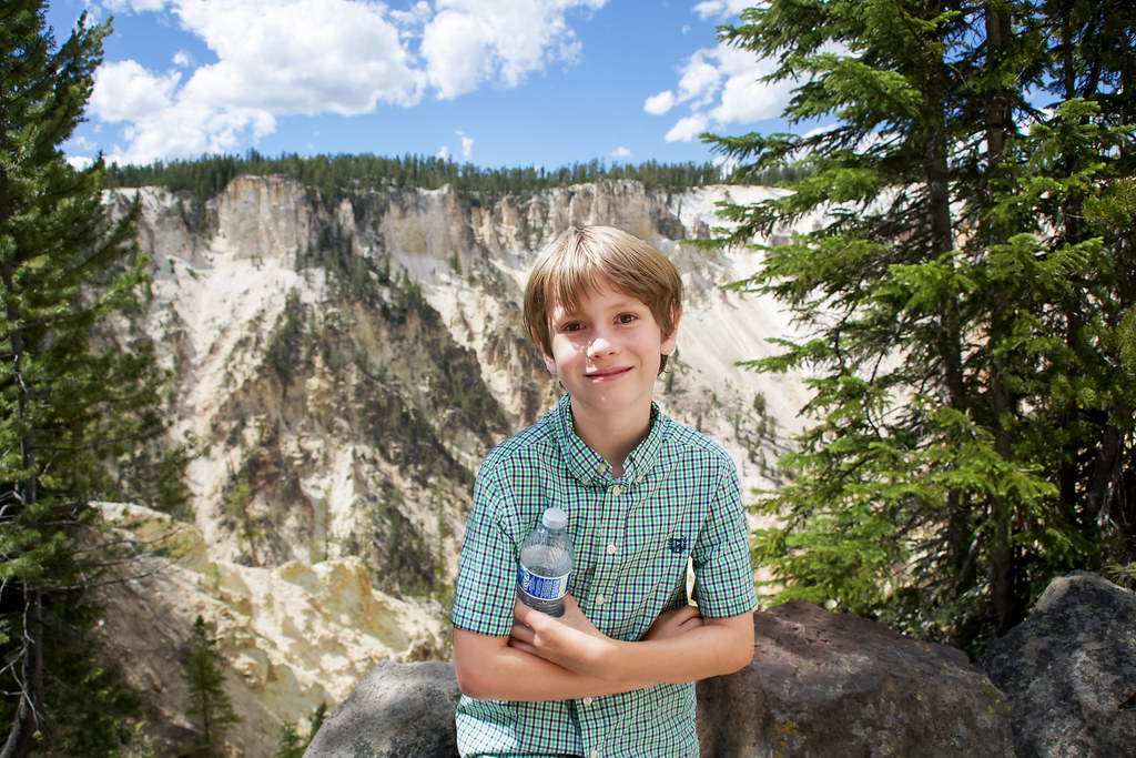 In Yellowstone Park