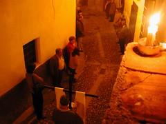 Procesión del Via Crucis de Cáritas