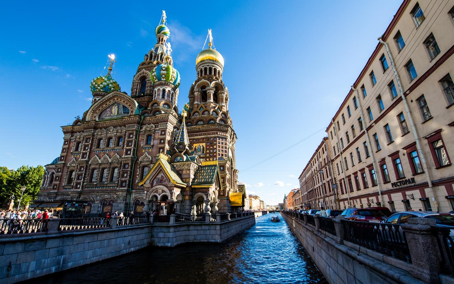 Guide til Skt. Petersborg