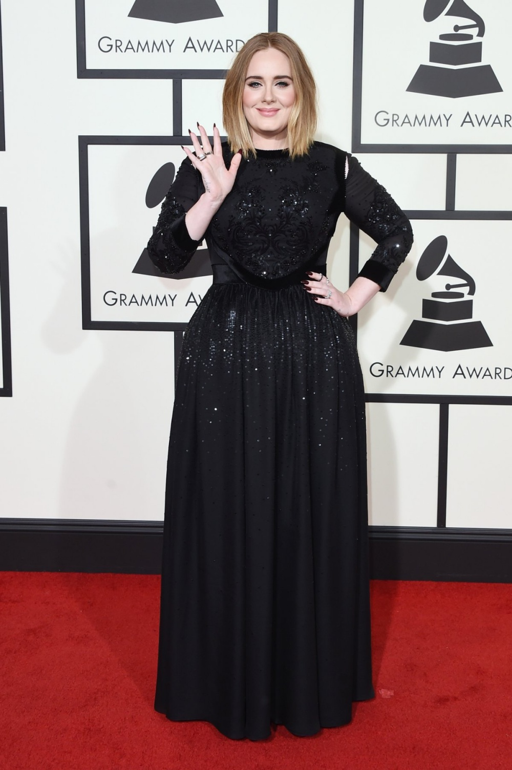 Adele Grammys 2016 Best Dressed Celebrities