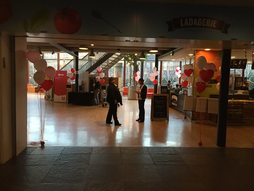 Tafeldecoratie 5ballonnen Gronddecoratie Hartballonnen Valentijn Open Dag Hoge School Rotterdam