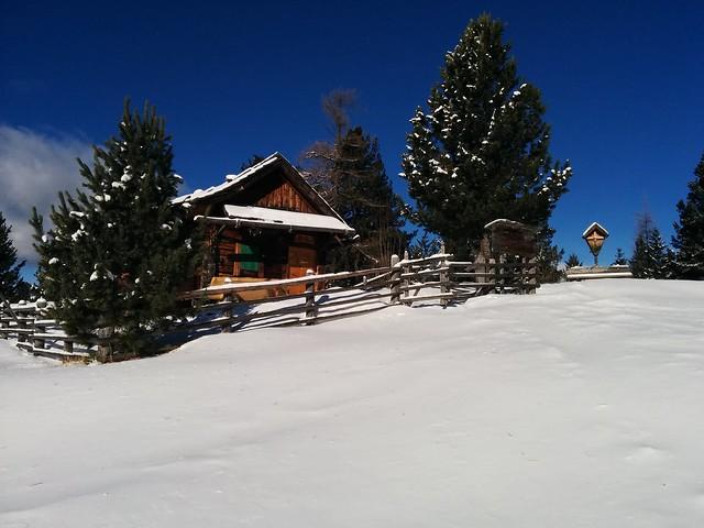 Die alte Jagdhütte