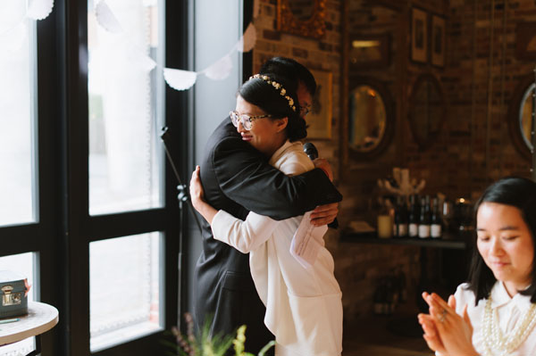 Celine Kim Photography KM Intimate restaurant Cluny Bistro Distillery District Toronto summer wedding-64