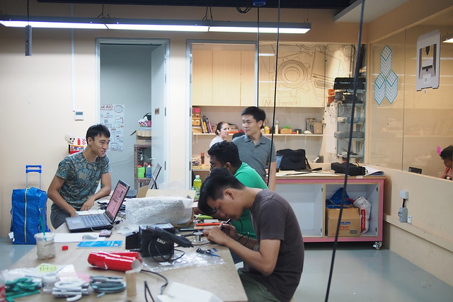 Make! Prototyping Lab. Singapore Design Week (March 2016), National Design Centre