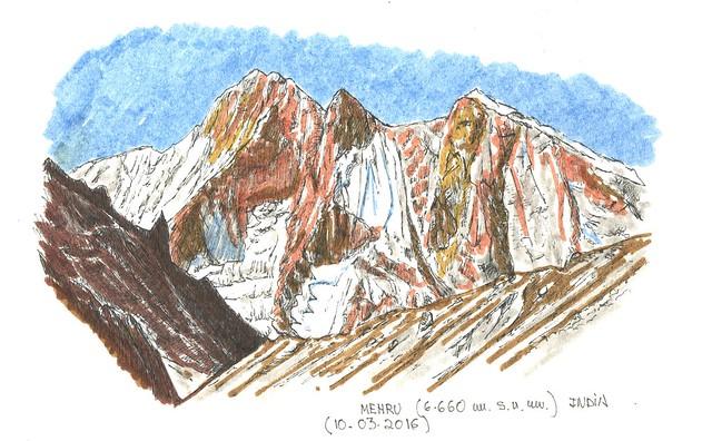 Mehru (6.660 m.s.n.m.)