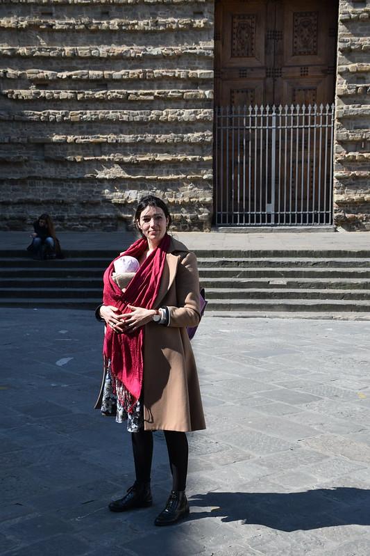 Con Eva en Florencia