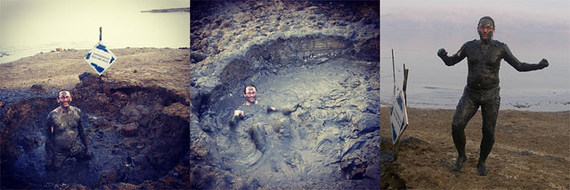 Wallowing in the Dead Sea Mud 2008