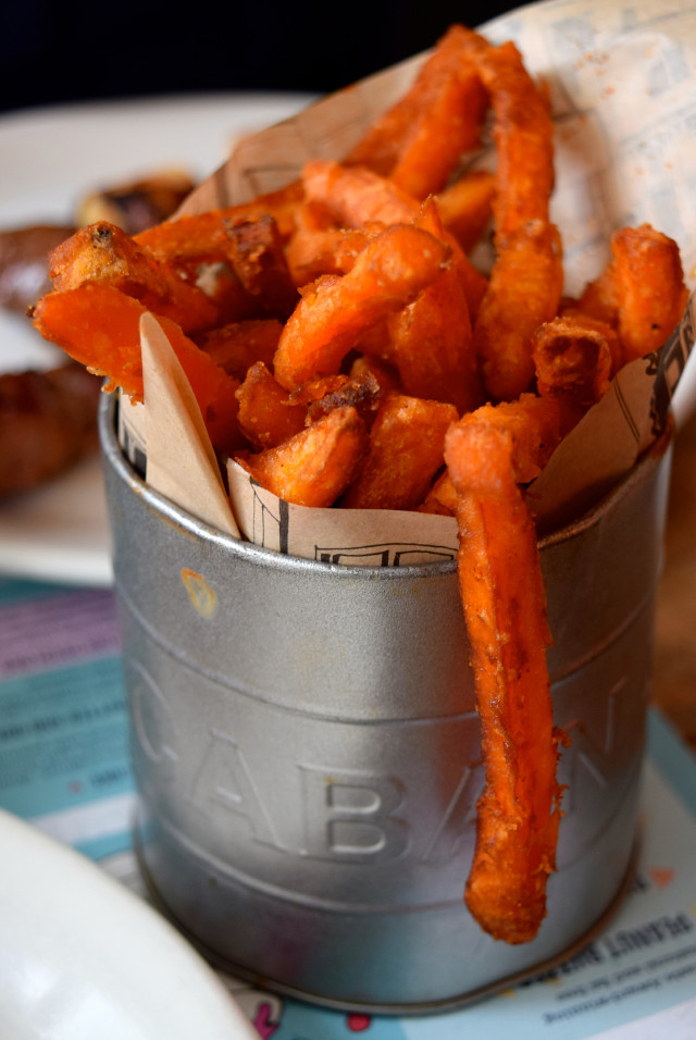 Sweet Potato Fries at Cabana, Covent Garden | www.rachelphipps.com @rachelphipps