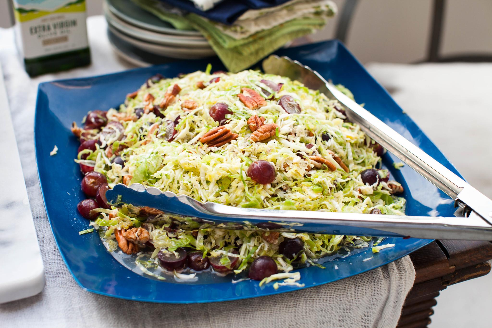 brussels sprout salad chrissy teigen cookbook
