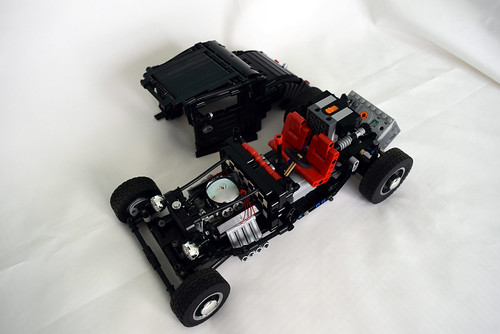 Black coupe - chassis and the body