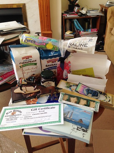 Blab Spring Swap gifts from ICSpots!