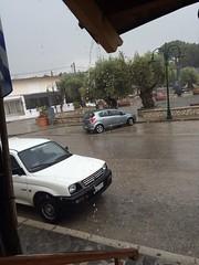 Καταιγίδα την Μεγάλη Τρίτη στην Ψίνθο
