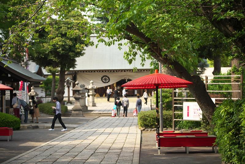 東京路地裏散歩 松陰神社 2016年5月1日