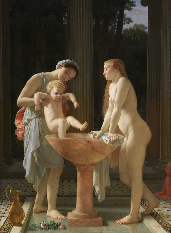 Charles Gleyre - The Bath (1868)