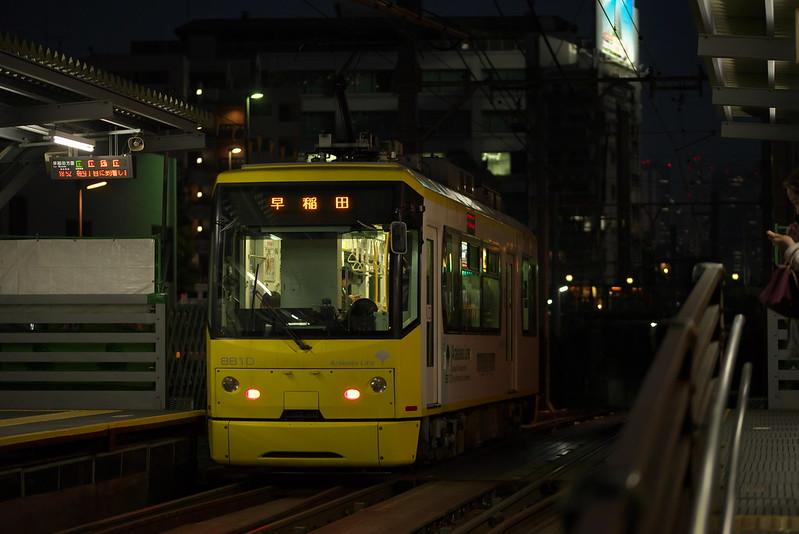 Tokyo Train Story 都電荒川線 2016年5月1日