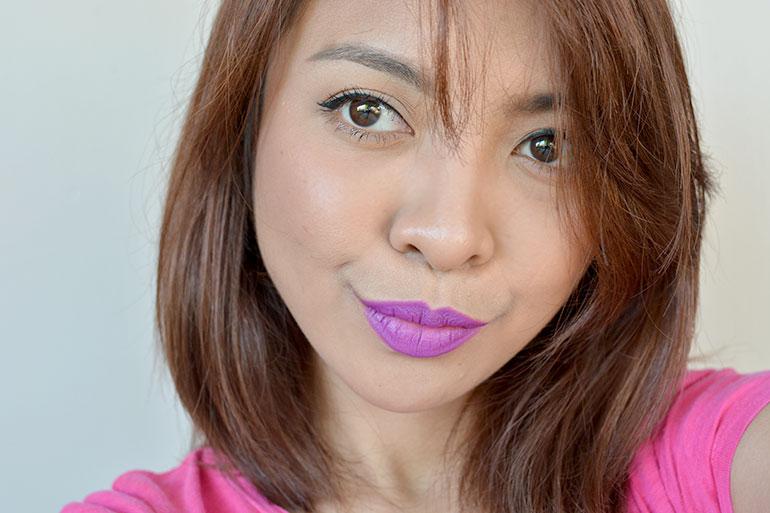 9 Maybelline Creamy Matte Vibrant Violet Lipsticks Review Swatches - Gen-zel.com (c)