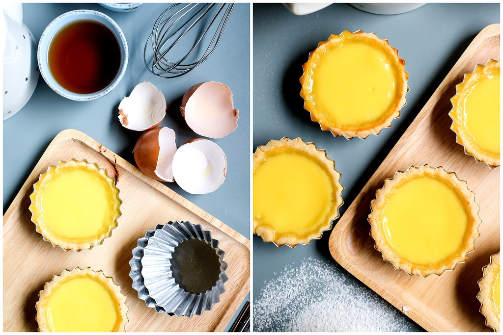 Egg Tarts Top Down