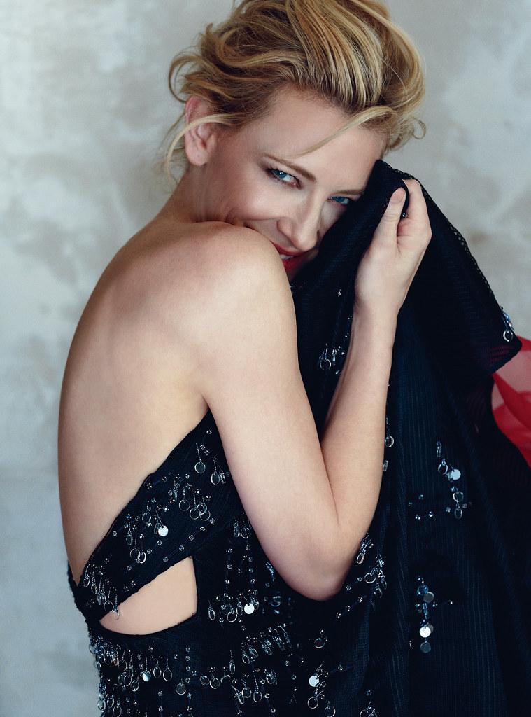Кейт Бланшетт — Фотосессия для «Harper's Bazaar» UK 2015 – 6