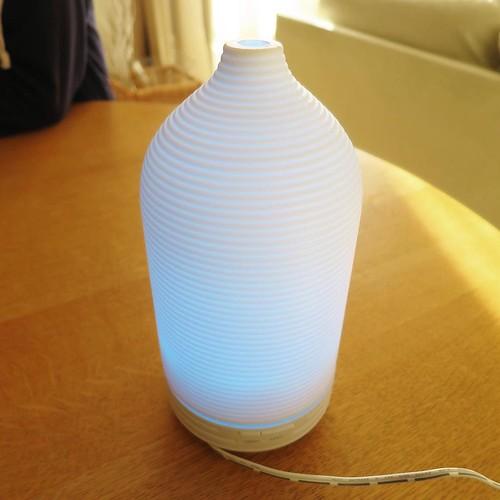 LEDの色は、いろいろ変えられます。