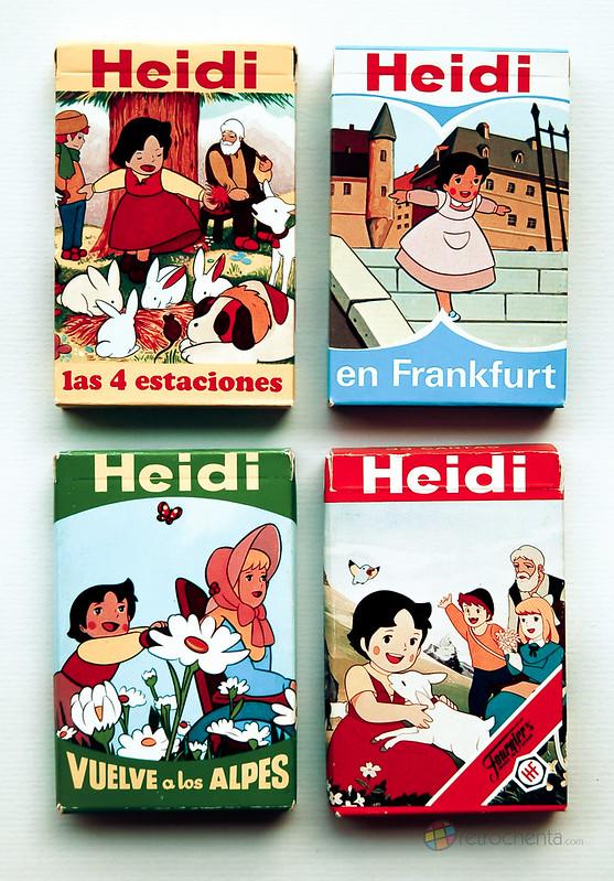 Barajas de Heidi de Fournier- delantera