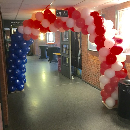 Ballonboog 6m Stars and Stripes Arcaplex Spijkenisse