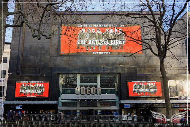 The Establishing Shot ODEON LEICESTER SQUARE SCREENING THE HATEFUL EIGHT - LONDON