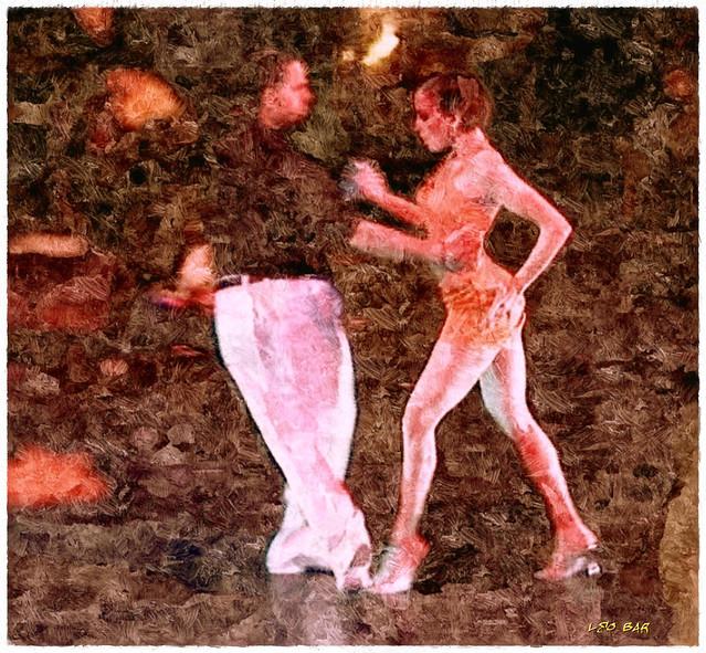 Tango dancers III
