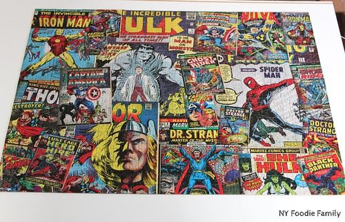 Marvel Comic Book Puzzle
