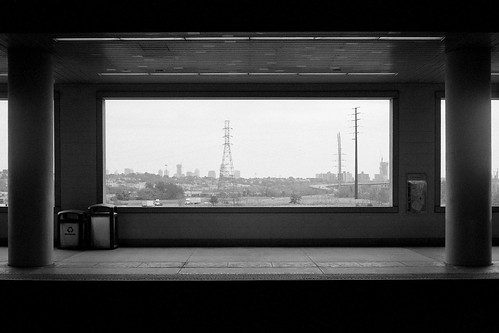 city blackandwhite bw window station japan composition train 35mm newjersey waiting mood view kodak tmax transport nj trains negative solo 400 transportation wait lonely solitary 45mm secaucus tmy yashicaelectro35gsn selfdeveloped yashinon kodaktmax400tmy kodakhc110 secaucusjunction yashinon45mmf17
