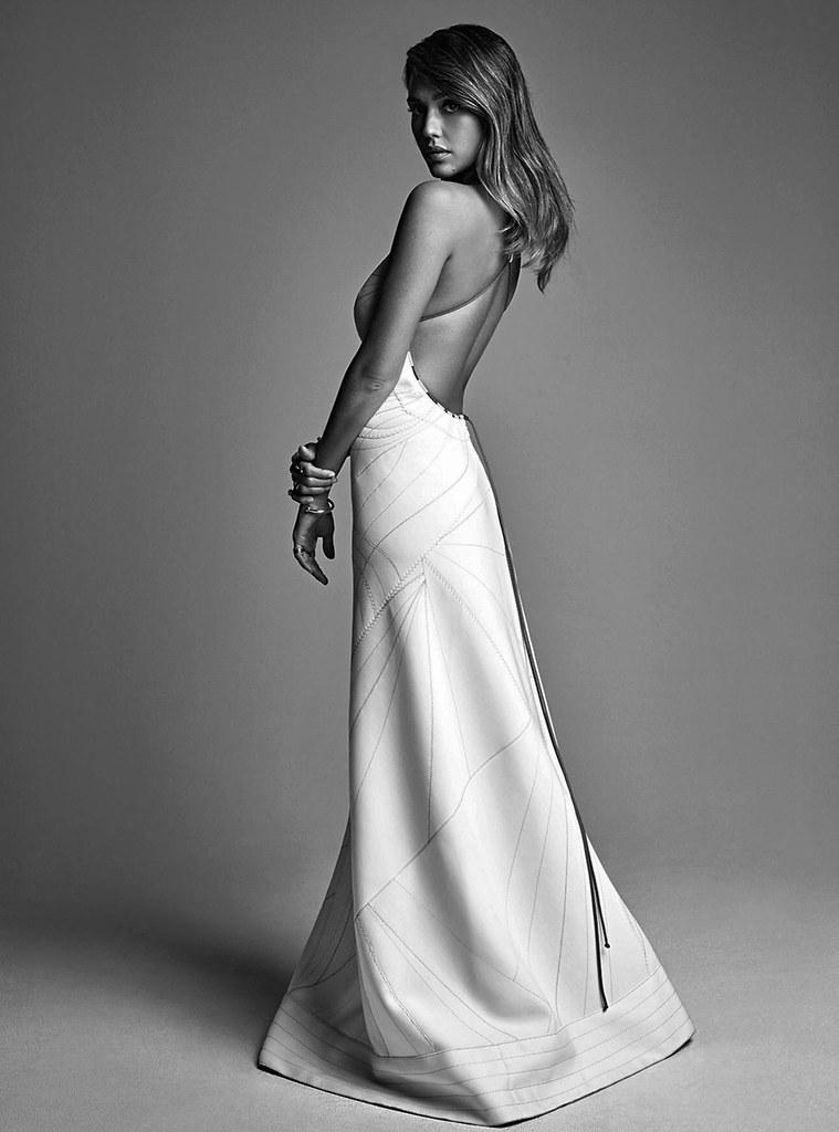 Джессика Альба — Фотосессия для «Vogue» AU 2016 – 4