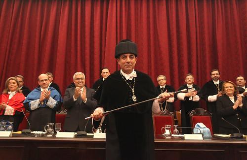 Acto de Investidura de Miguel Ángel Castro como rector