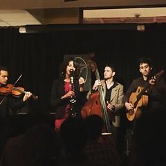 #swingvandls at #pipaclub - amazing Django Rheinhart style quartet from Toulous !