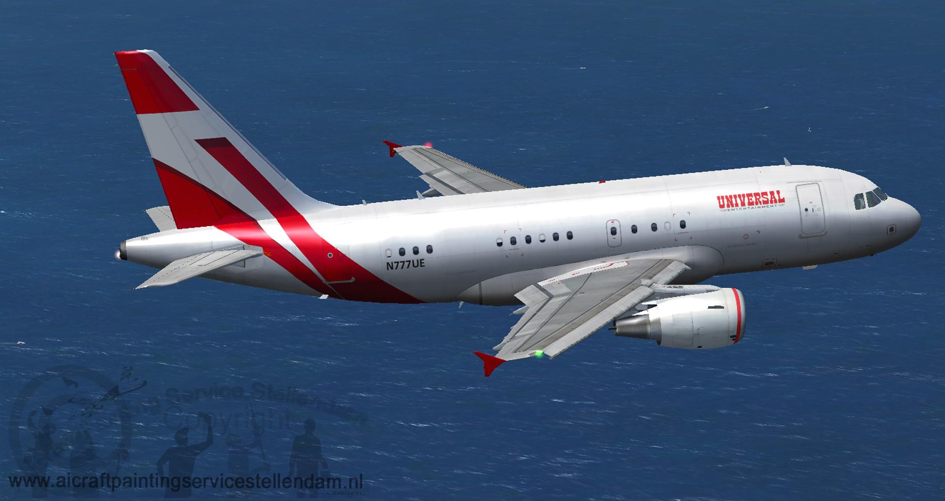 ProjectAirbusA318-112UniversalEntertainment_N777UE_FSX2