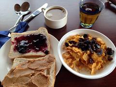 breakfast at Hotel Breiðavík